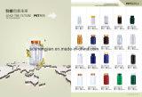 Bottiglia all'ingrosso di colore giallo dell'animale domestico 120ml per il pacchetto della capsula