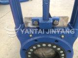 Valvola a saracinesca pneumatica flangiata della lama dell'acciaio inossidabile Pn16 2 ''