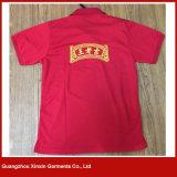 Maglietta su ordinazione di alta qualità con stampa il vostro marchio fatto in Cina (P156)