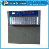 Tempo UV gabinete de teste acelerado do envelhecimento, borracha da tela de toque e gabinete de teste UV plástico do envelhecimento da resistência