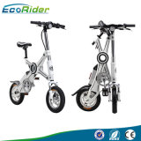 Ecorider dos ruedas Scooter eléctrico, Vespa eléctrica plegable, Mini plegable bicicleta eléctrica