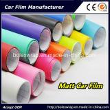 El vinilo auto-adhesivo colorea el coche que envuelve la película del vinilo, película de la etiqueta engomada del coche del abrigo del vinilo del coche