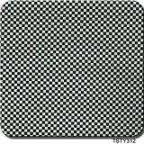Tsautop Hotting Venta de 0,5 m/1m de ancho de película hidrográfica de fibra de carbono de impresión impresión de transferencia de agua Aqua Films Tsty312