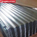 Гофрированный цинком стальной лист крыши плитки толя гальванизированный/катушка высокого качества стальная