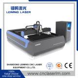 Machine de découpage simple de laser de fibre de Tableau Lm3015g3 pour l'acier en métal