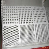 Acero inoxidable perforado plateado de metal/de la hoja del precio 304/316L/321