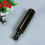 aceite de cocina verde oscuro redondo de la botella del aceite de oliva 250ml