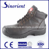 Zapatos de seguridad de cuero con el certificado Snb113A del Ce
