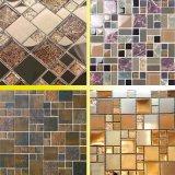 Plato de vidrio Plato de vidrio Mosaico de vidrio Producción horno