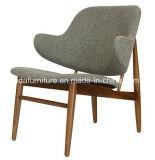 Cadeira de jantar arborizada de assentamento estofada do plutônio couro moderno