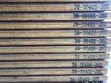 madera contrachapada del suelo del envase del infante de marina de 28m m