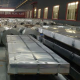le mattonelle di tetto d'acciaio del metallo di 0.45*1000mm ondulate hanno galvanizzato la lamiera di acciaio