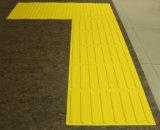 Pavimentazione di gomma di sicurezza esterna per il mattone dei ciechi del passaggio pedonale