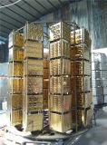 Керамические плитки Gold Silver закрывается Gold вакуумный покрытие машины