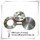 Figura 8 flangia cieca, flange cieche dello spettacolo dell'acciaio inossidabile