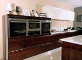 Laca de Pólo que pinta os gabinetes de cozinha simples (zz-059)
