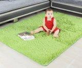 Sala de desenho pode ser lavada com tapete de lã imitação de mão com apoio TPE