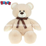 Il giocattolo sveglio dell'orso dell'orsacchiotto del Tan della peluche è buon socio dei bambini