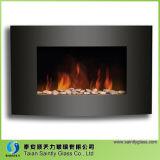 Verre à cheminée électrique à températures