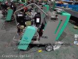 170 мм Режущая глубина Honda Gx390 Прогулка по бетонной напольной пиле для асфальта и бетона Gyc-180