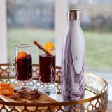 Frasco de garrafa de água com garrafa de água em inox de 25 onças