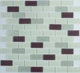 Mattonelle di mosaico di vetro di Demax per la parete alla radura
