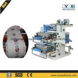 Machine d'impression flexographique de couleur de la feuille de plastique deux (YT)