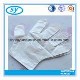 Gefaltete HDPE medizinische Wegwerfplastikhandschuhe