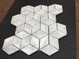 3D Mozaïek die van Ilusion Marmeren Mozaïek met elkaar verbinden