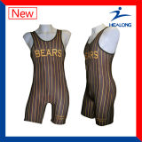 Vestuário de wrestling personalizados Healong camisolas para venda