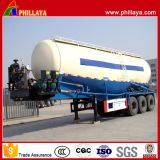 디젤 엔진 - 강화된 3개의 차축 30-60 Cbm 대량 시멘트 트레일러