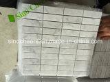 Precio del revestimiento del precio bajo de Bianco Carrara de suelo de mármol blancos de los azulejos y de la pared