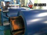 Bobina de aluminio prepintada colorida de Ideabond (poliester)
