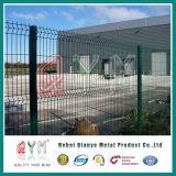 V網の庭のFence/PVCによって塗られた溶接された三角形の塀はまたは塀のパネルを曲げた