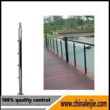 Balustrade en acier inoxydable de haute qualité pour escalier / balcon / terrasse / garde-corps