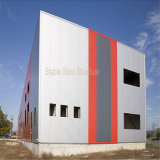 Edificio de la estructura de acero para el taller/el almacén/la oficina industriales