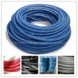 R1 R2 DIN/boyau hydraulique en caoutchouc de tresse fil d'acier de SAE Industria