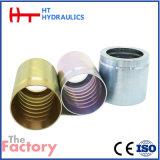 GB/SAE/Metric/Bsp para a melhor qualidade da virola hidráulica forjada da mangueira (01100)