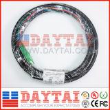4 fils de fibre optique optique APC Upc Waterproof Connector Pigtail Cable