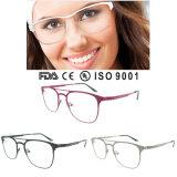 Más De Moda colorida de metal marco de la venta de Anteojos ópticos