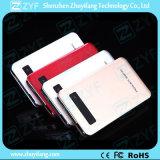 côté externe d'alimentation par batterie du chargeur 8000mAh portatif avec l'Afficheur LED (ZYF8062)