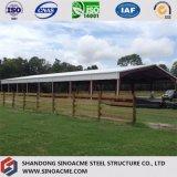 Construction commerciale de structure métallique pour l'arène d'équitation