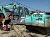Máquina escavadora usada muito boa Kobelco Sk210-8 da esteira rolante da condição de trabalho (feito em 2011) para a venda