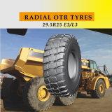 Neumáticos radiales OTR para excavadoras y cargadoras