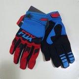 Red&Blue 새로운 디자인 가득 차있는 핑거 크로스 컨트리 경주 장갑 (MAG76)