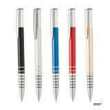 Pen van het Metaal van de Herinnering van het Metaal van de rol de Blauwe