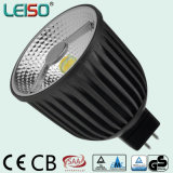 COB puces crie 6W LED MR16 Spotlight avec CRI98