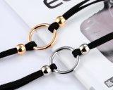 De enige Ketting van de Hals van Necklaces&Pendants van de Kraag van het Flanel van de Vrouwen van de Halsband van de Nauwsluitende halsketting van het Ontwerp van O Dame Jewelry