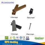 Einfache installierende im Freien hölzerne zusammengesetzte Plattform/WPC Decking-Plastikvorstände