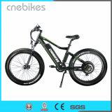 Cnebikes 26 인치 전기 뚱뚱한 타이어 단속기 자전거